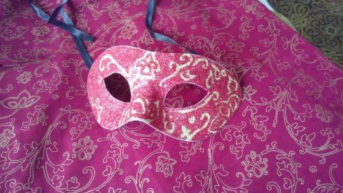 Masque et tissu